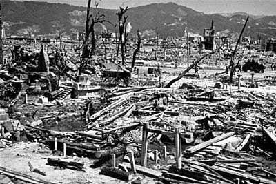 Image: Hiroshima Nagasaki in 1945